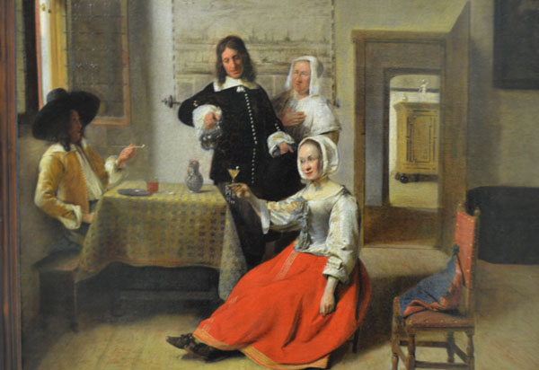 Louvre Vermeer Et Les Peintures Flamandes